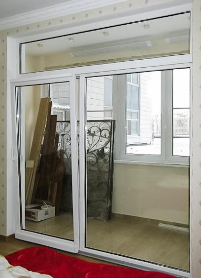 фото: Подъемно-раздвижная система на балкон