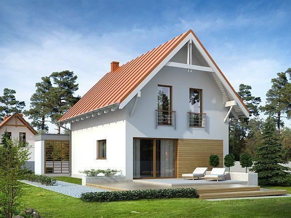 французский балкон в частном доме