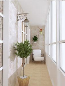 фото: уютный балкон