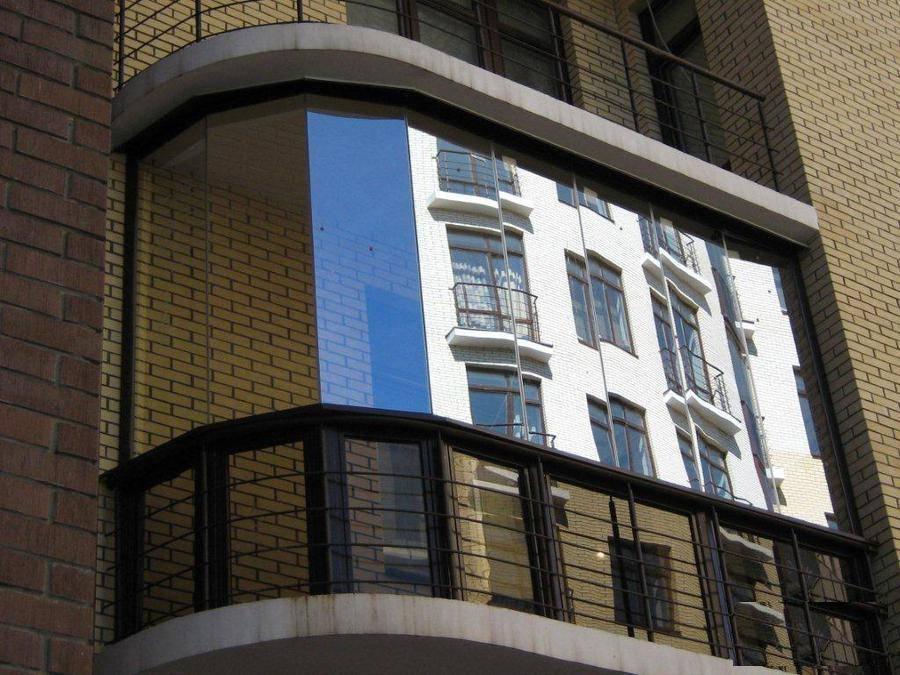 Виды остекления балконов и лоджий - выбираем лучшее.