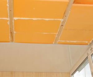 фото: утепление потолка пеноплексом