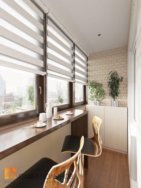 фото: варианты оформления балкона