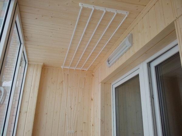 Лианы для белья на балкон - всё о балконе.