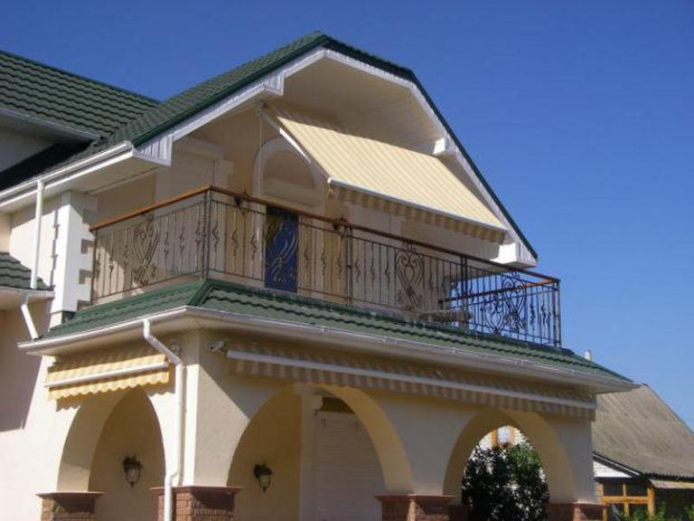 Балконы частные дома фото