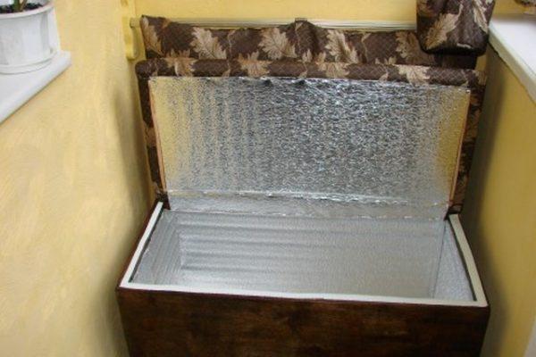 погребок на балкон
