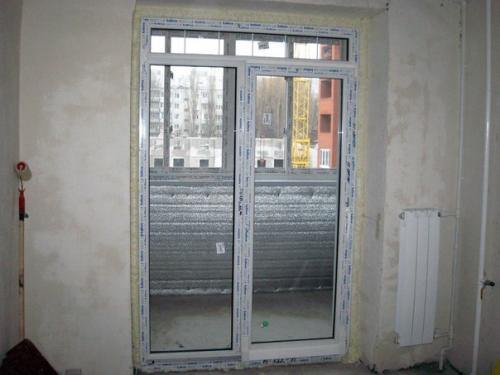 фото: монтаж французской двери