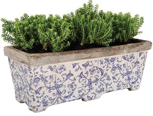 керамические ящики для цветов на балкон