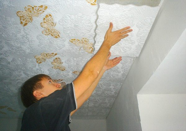 Потолочные плиты из полистирола
