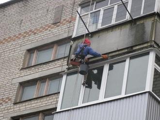 фото: утеплить балкон снаружи