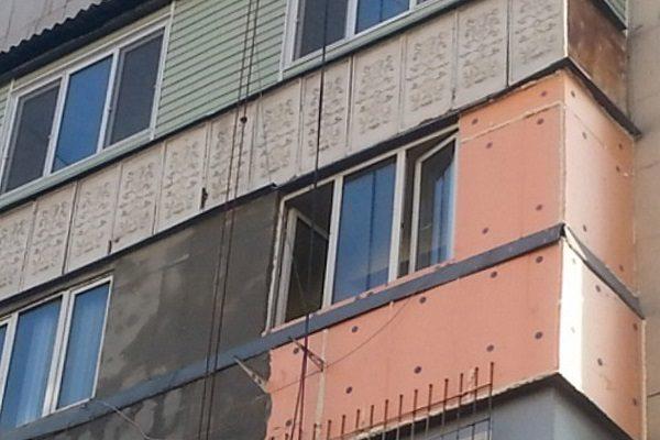 Утепление балкона пеноплексом снаружи