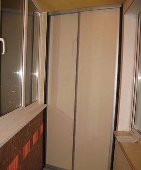 Как самим сделать шкаф купе встроенный фото на балкон