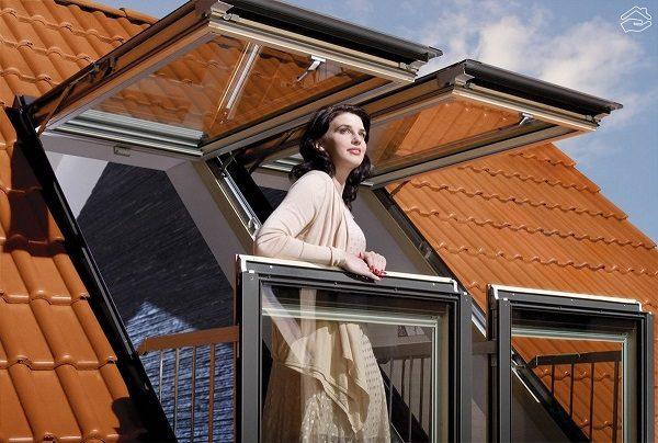 фото: окно балкон