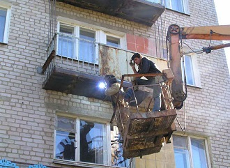 фото: капитальный ремонт балкона