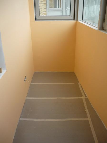 Как покрасить балкон внутри своими руками 33