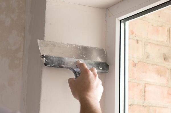 оштукатуривание откосов окна
