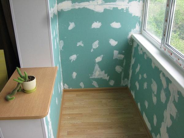 подготовка стен из гипсокартона под покраску