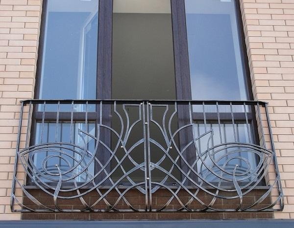 фото: французский балкон без площадки