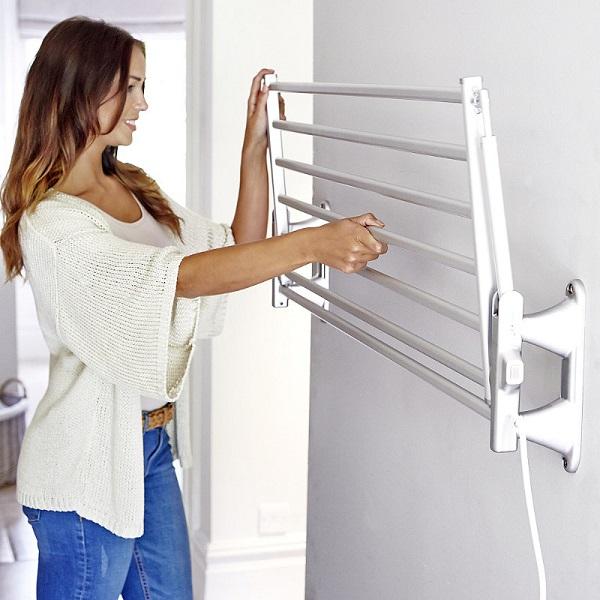 электрическая настенная сушилка для белья на балкон