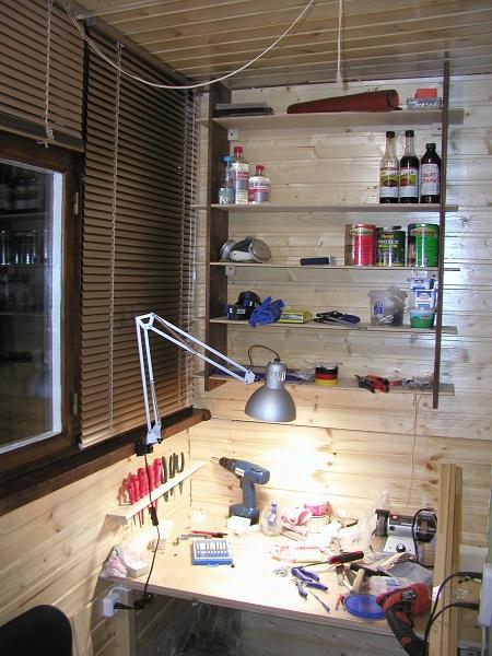 фото: мастерская на балконе