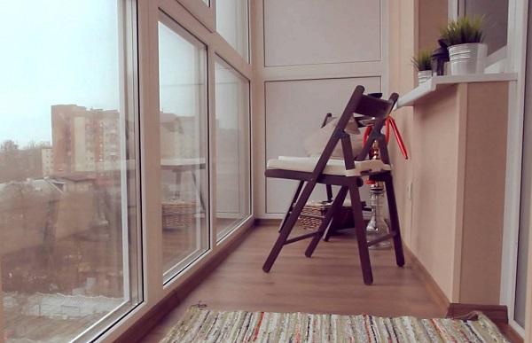 фото: панорамный балкон