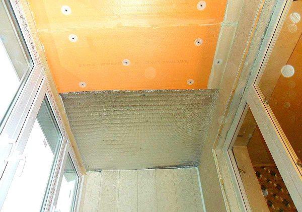 утепление балкона пенофолом и пеноплексом