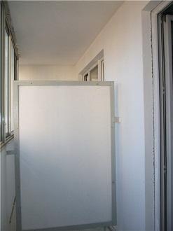 балконная перегородка из листа