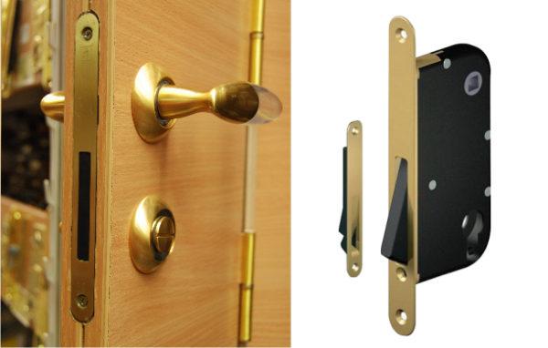 Защелки для межкомнатных дверей: магнитные, ручки защелки, установка фото