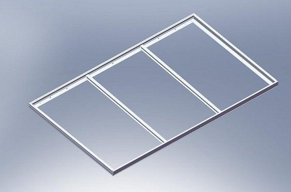 алюминиевая рамка для солнечной батареи