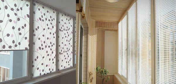 что лучше рулонные шторы или жалюзи на лоджию