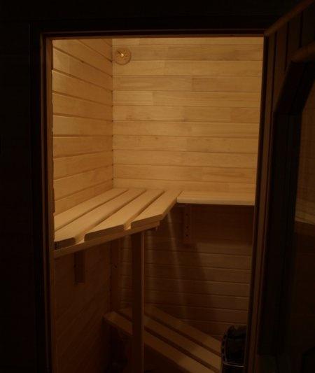 полок для сауны на балконе