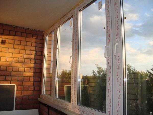двухкамерные пластиковые окна