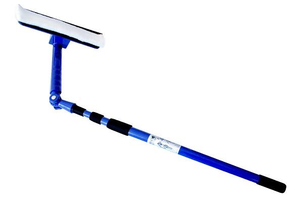швабра с телескопической ручкой для мытья окон снаружи