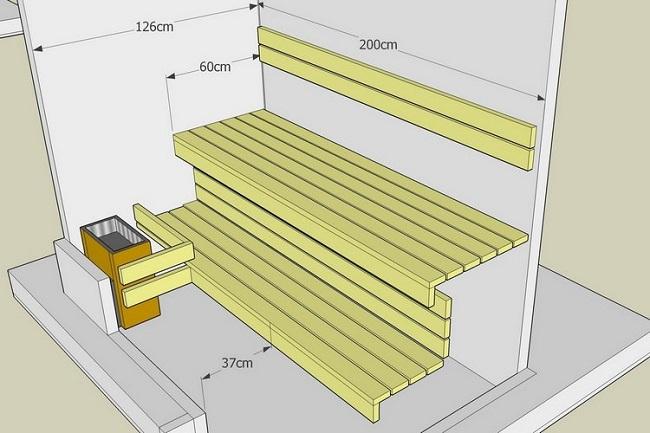 3 д дизайн сауны на балконе