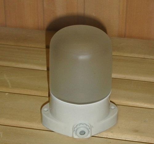 герметичные точечные термосветильники в сауне