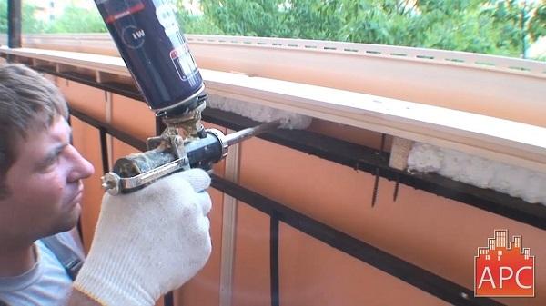герметизация монтажной пеной