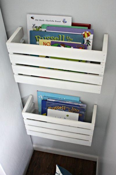 ящики для хранения книг