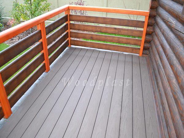террасная доска для открытых балконов