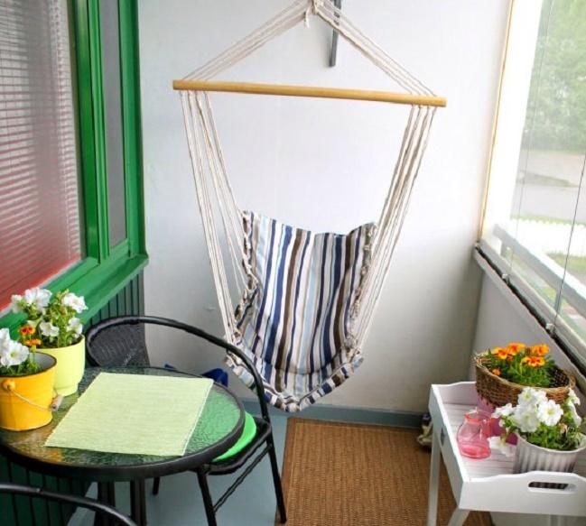 кресло гамак на балкон