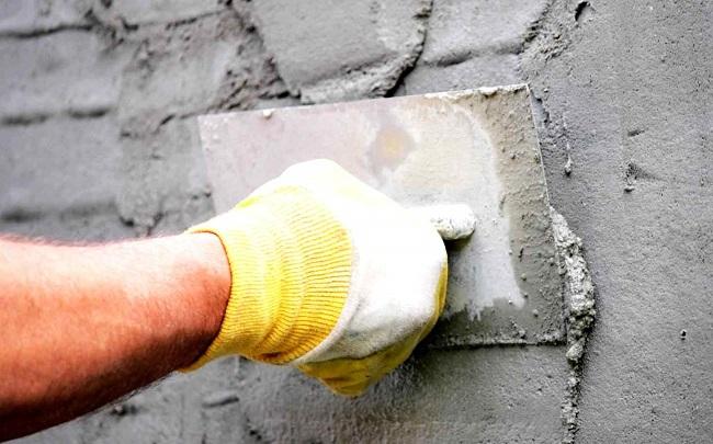 оштукатуривание стен перед утеплением