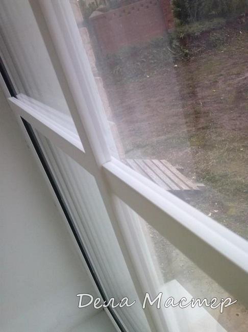 фото: фальшнакладки на окна