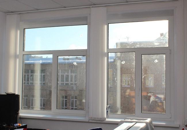 пластиковые окна разделенные на секции