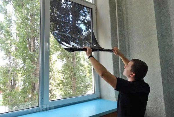 фото: затонировать балкон