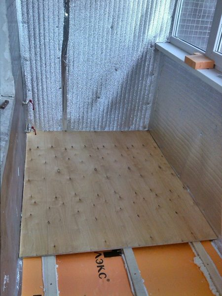 Устройство деревянных полов на балконе