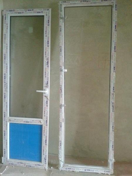 балконная пластиковая дверь из пвх
