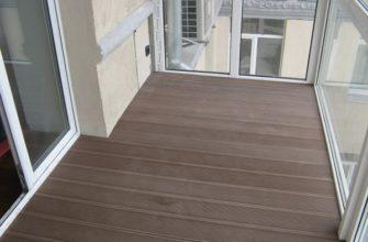 фото: декинг на балконе