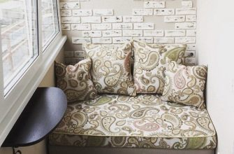 фото: диванчик на балкон своими руками