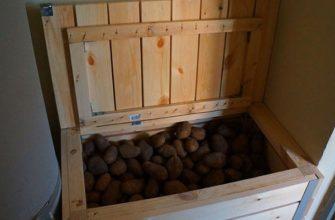 ящик под картошку из вагонки