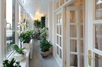 фото: зимний сад на балконе