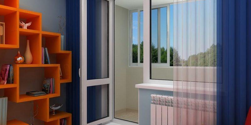 фото: балконная дверь