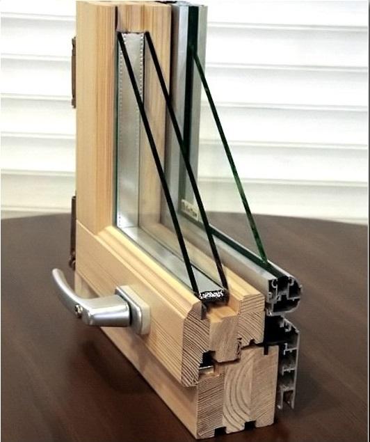 Современные деревянные стеклопакеты